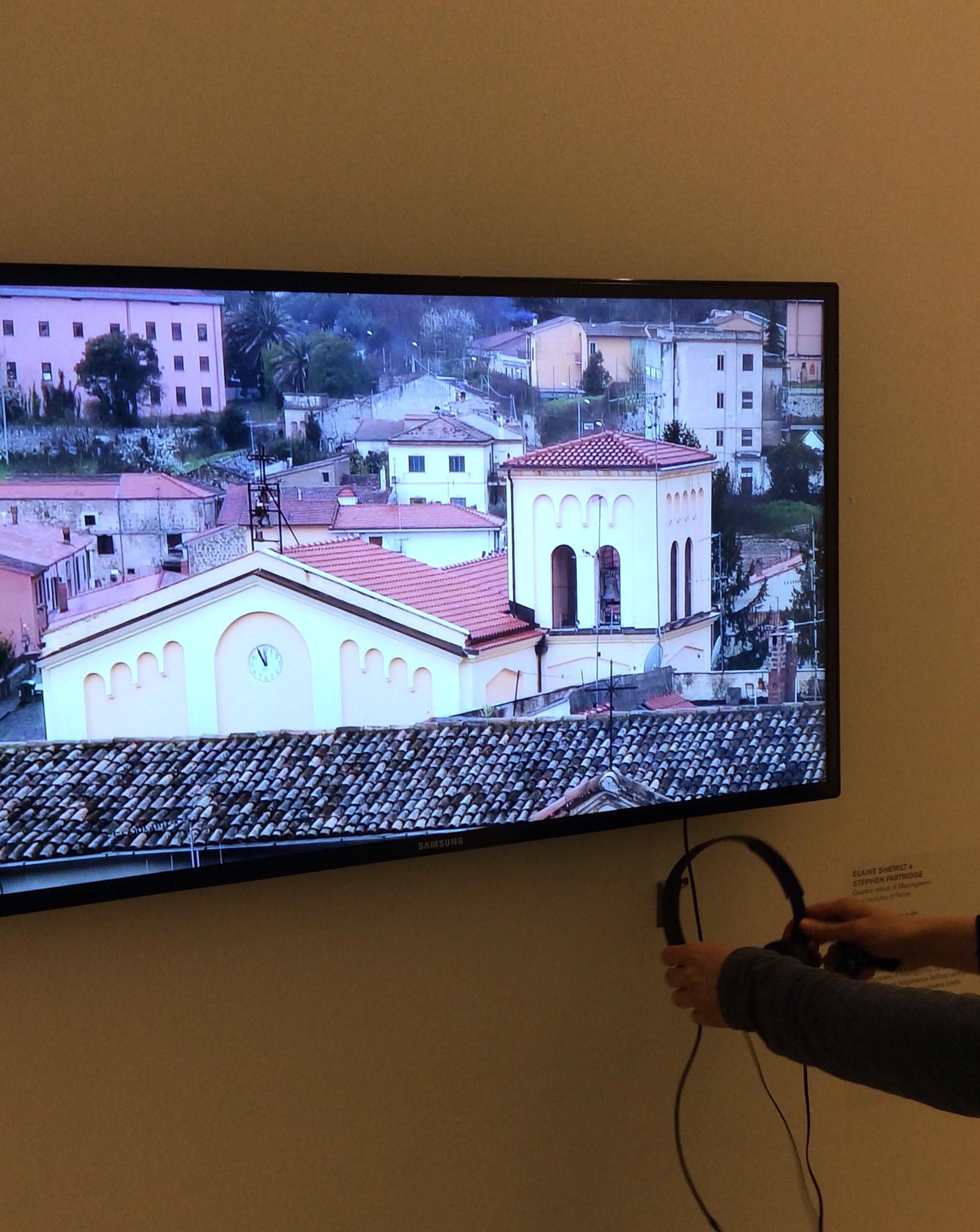"""Quattro Minuti di Mezzogiorno. Hi Definition Film. Exhibited in """"Dall'oggi al domani. 24 ore nell'arte contemporanea"""", at MACRO – Museo d'Arte Contemporanea Roma, Italy"""